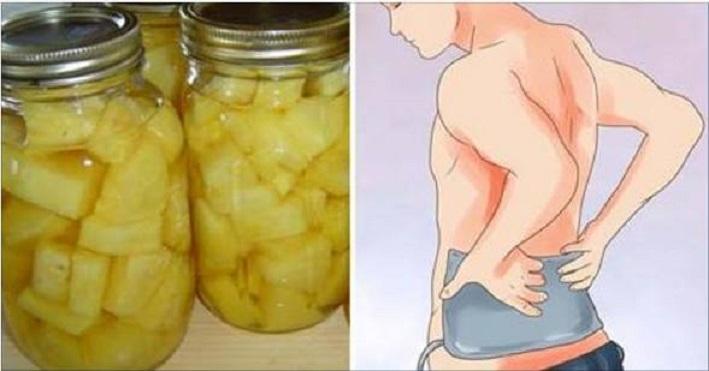 água de abacaxi
