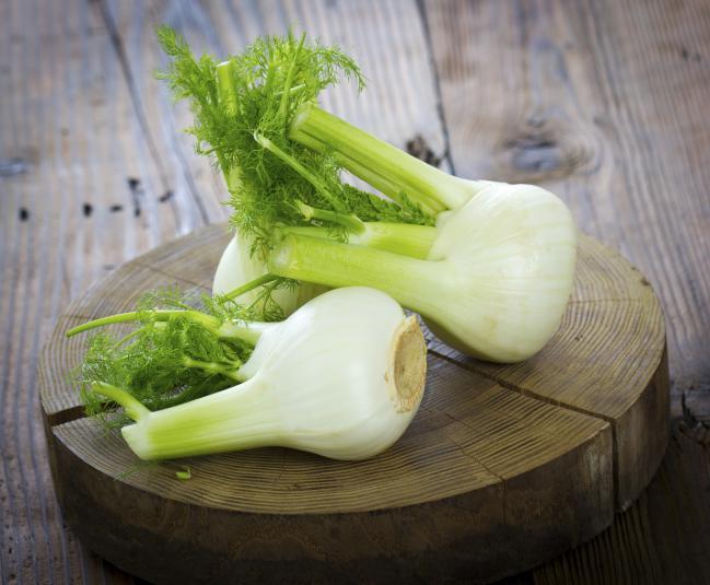 5 vegetais erva-doce