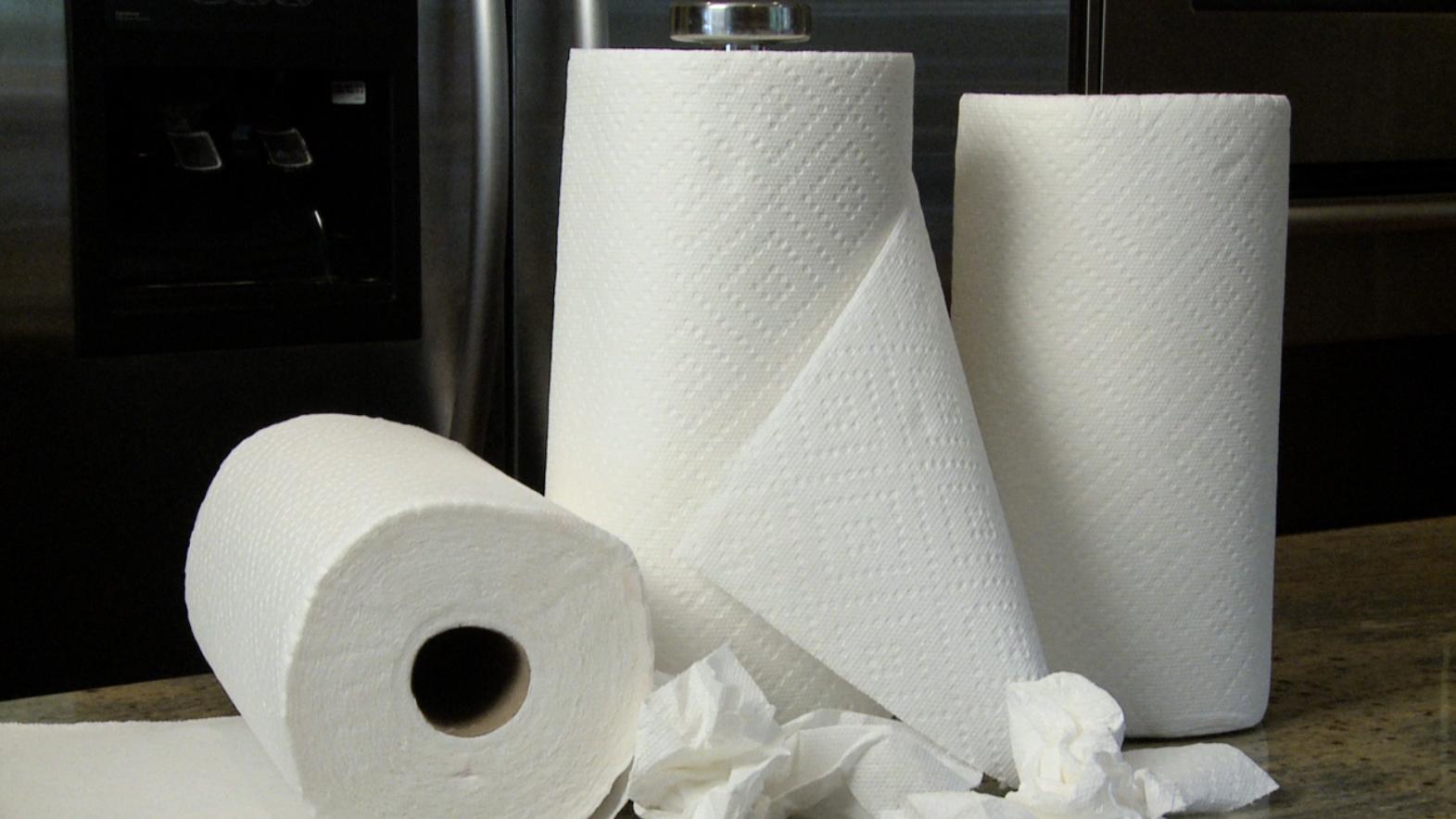 papel toalha