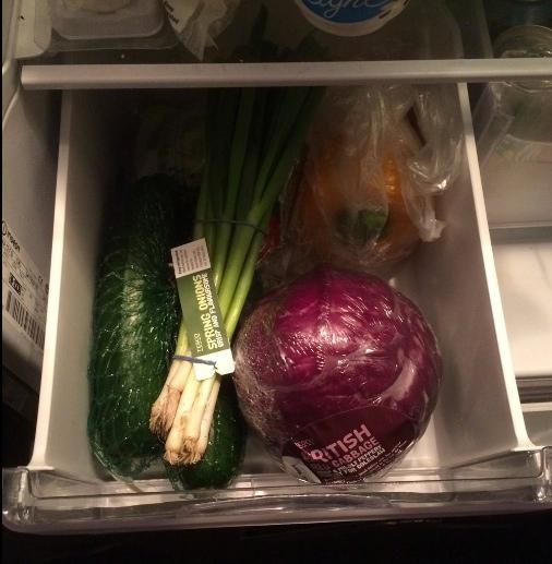 frutas e vegetais - repolho