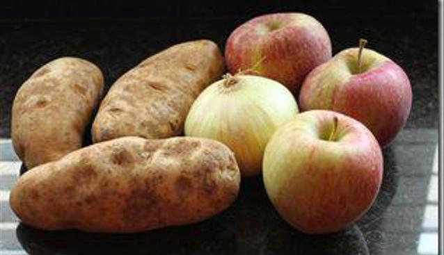 frutas e vegetais - batata