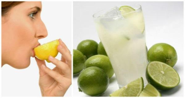 verdadeira água com limão